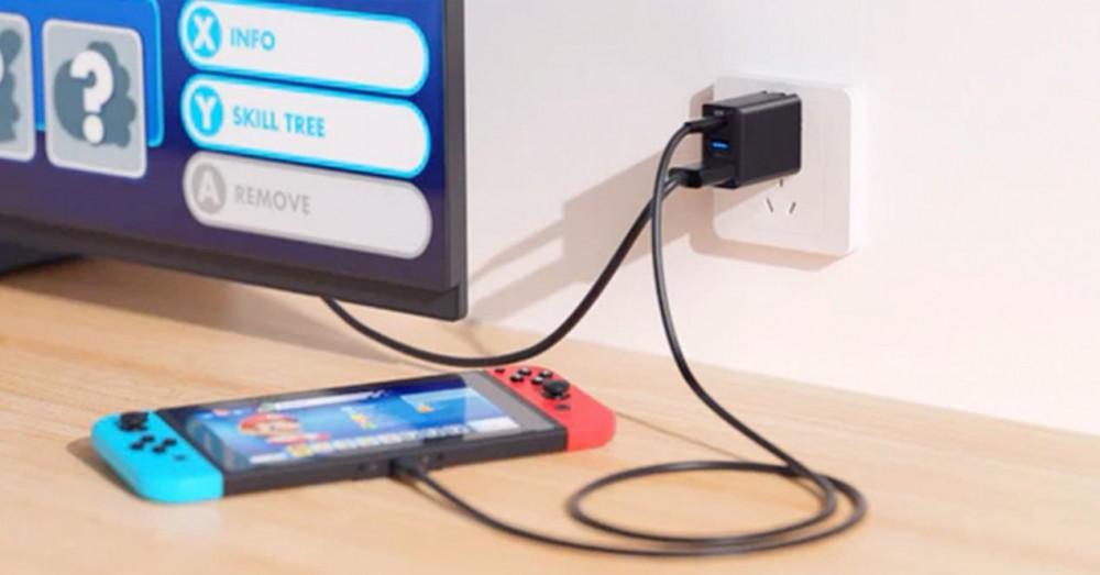Зарядное устройство Nintendo Switch с выходом HDMI