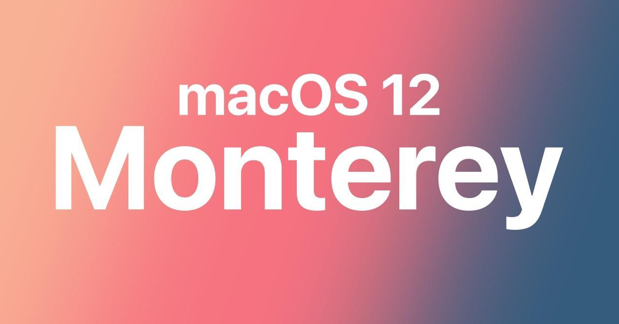 Mac qui pourront passer à macOS 12 Monterey
