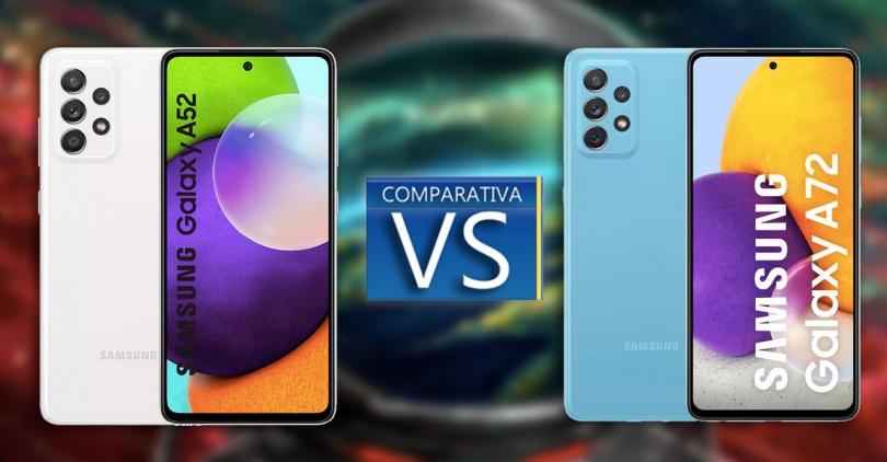 Samsung Galaxy A52 vs Galaxy A72