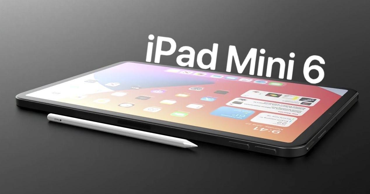 rendu ipad mini 6