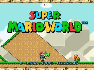 Jouez à Super Mario World en écran large