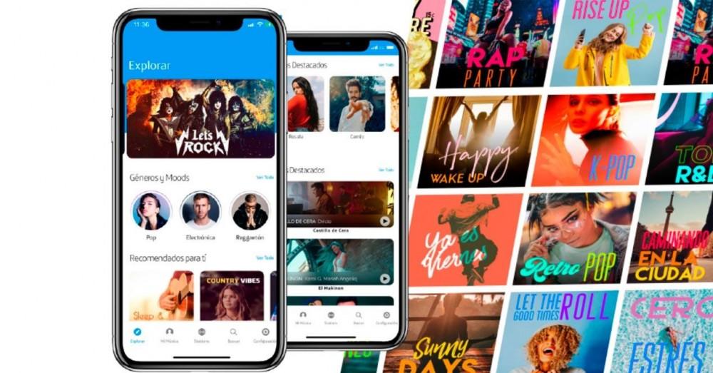 Movistar Música, Serviciu exclusiv nou - Prețuri și catalog