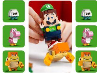 Aventures avec Luigi, le mode 2 joueurs arrive dans LEGO Super Mario
