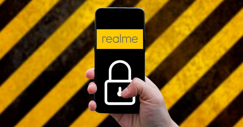 Как поставить пароль к мобильным приложениям Realme