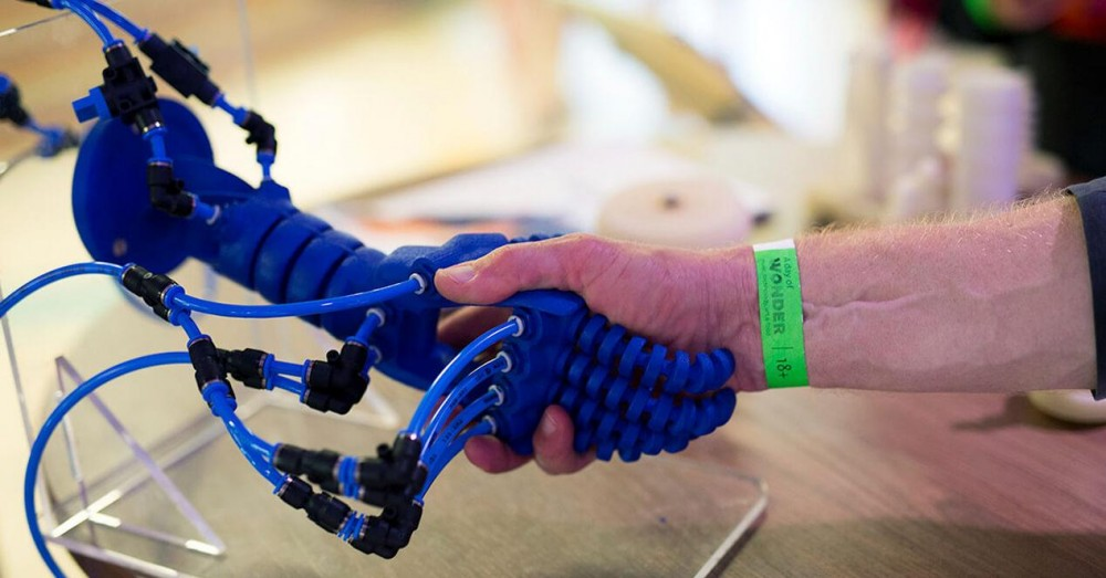A New Material Is Developed That Will Help Create Soft Robots