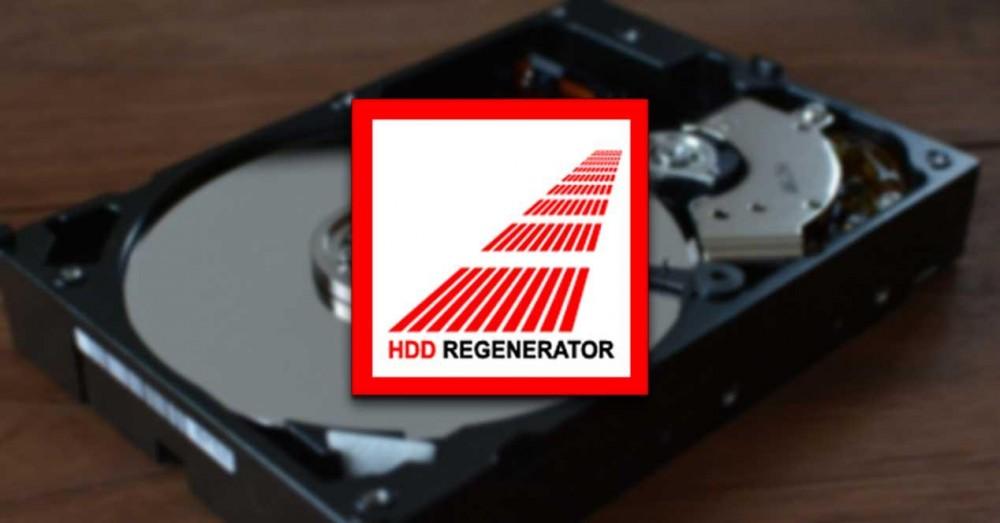 HDD RegeHDD Regenerator - Repair Bad Hard Drive Sectorsnerator - Repair Bad Hard Drive Sectors