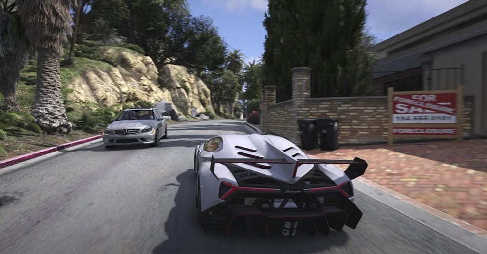 GTA 5 with Ray Tracing