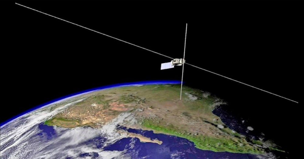 Satellite Has Studied Radiation and Measures the Same as a Football Field