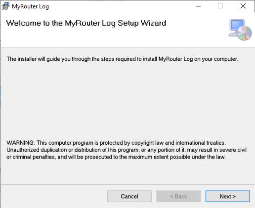 Stocker les journaux du routeur avec MyRouter Log sur PC