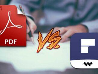 Adobe Acrobat DC vs PDFelement