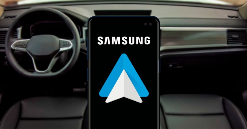 Configure Android Auto on a Samsung Mobile