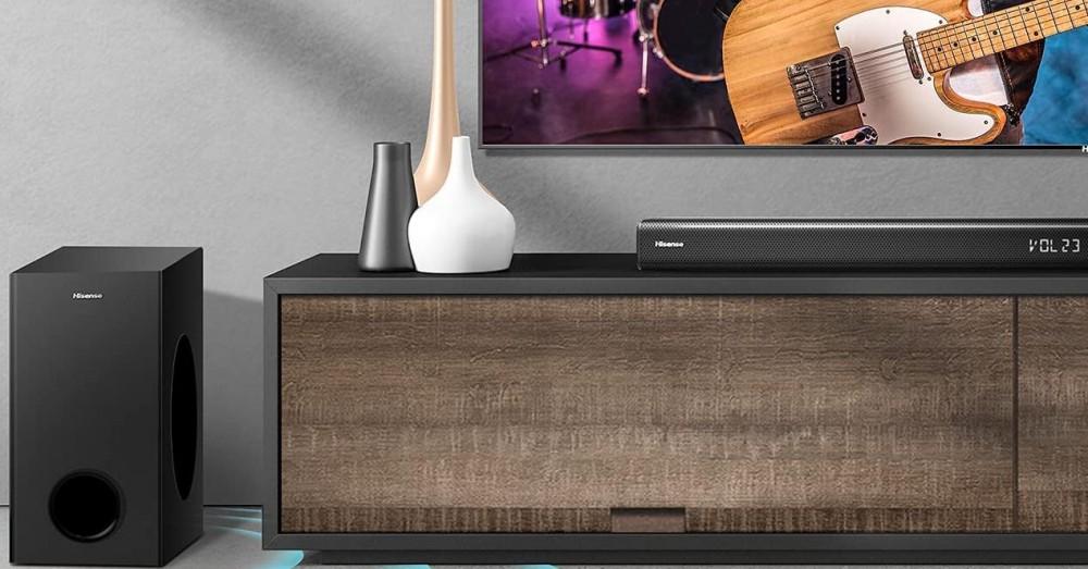 Hämmästyttävä tarjous Hisense HS218 Soundbarista