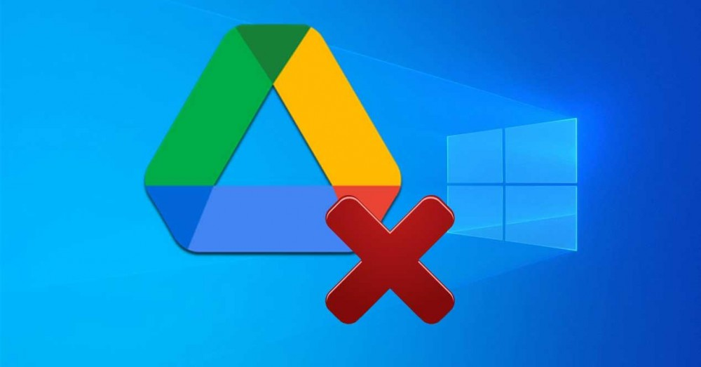 Disconnect and Uninstall Google Drive from Windows 10