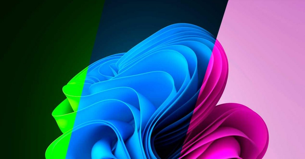 Variations of the Original Windows 11 Background of All Colors