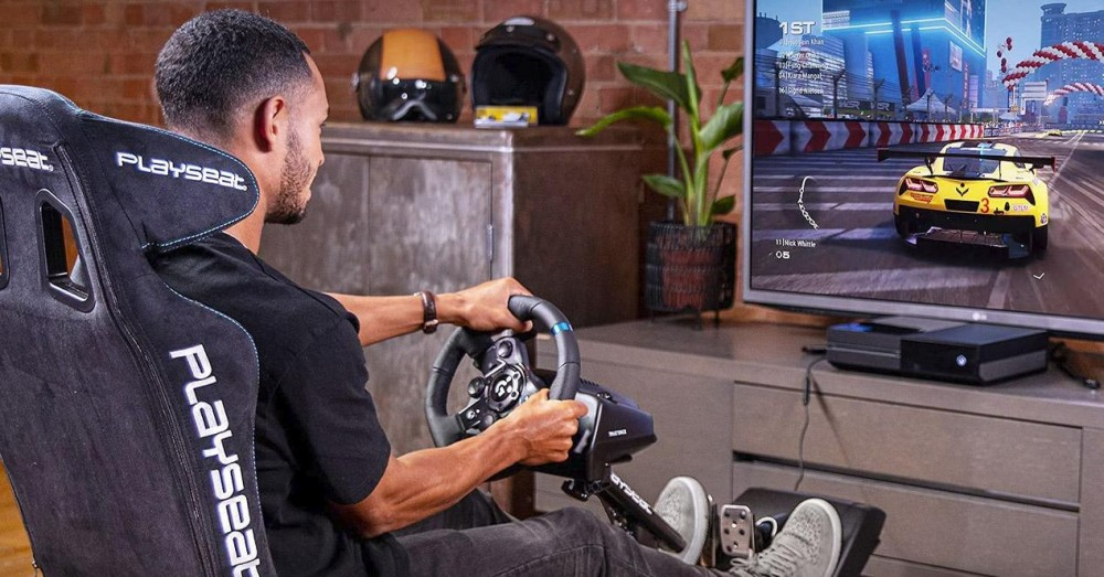 Steering Wheels Compatible with PS5 and Xbox Series S/X