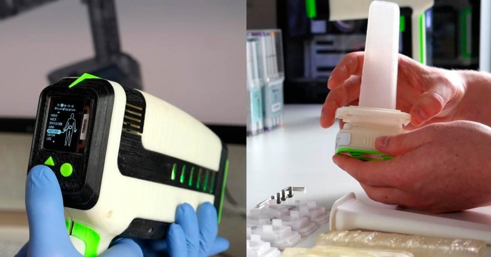 REACT, the 3D Printed Device that Can Stop Bleeding