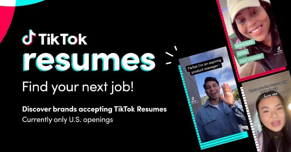How TikTok Resumes Works