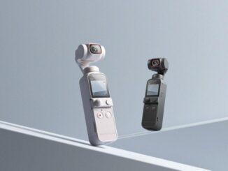 Lançamento do novo DJI Pocket 2 Sunset White