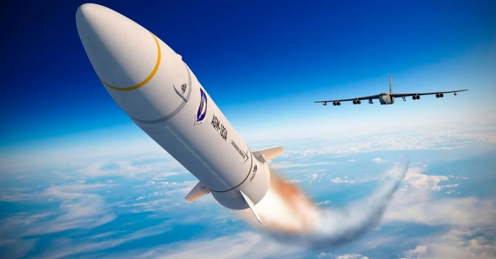 United States Air Force Develops Its First Hypersonic Missile