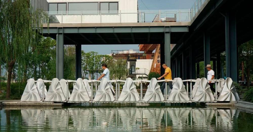 Deux ponts imprimés en 3D ont été installés