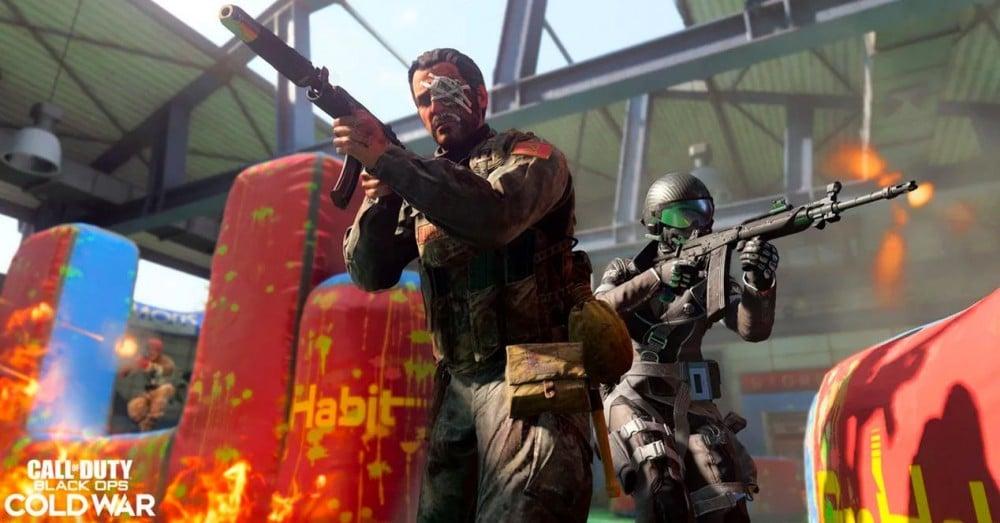Paintball în Call of Duty Războiul Rece