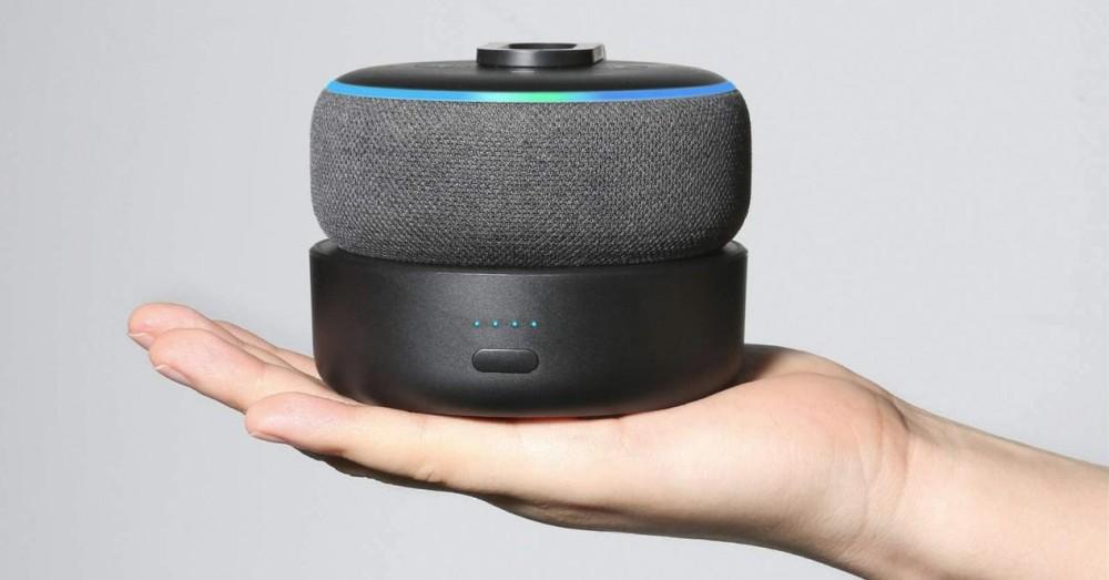 Battery Powered Docks for Amazon Echo