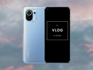 Record Videos with Xiaomi VLOG Mode