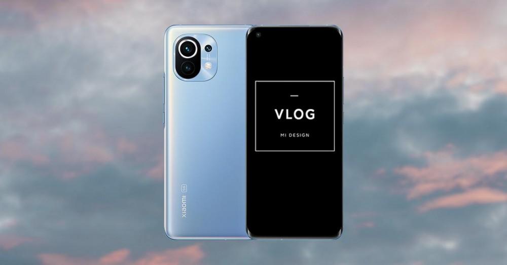 Optag videoer med Xiaomi VLOG-tilstand