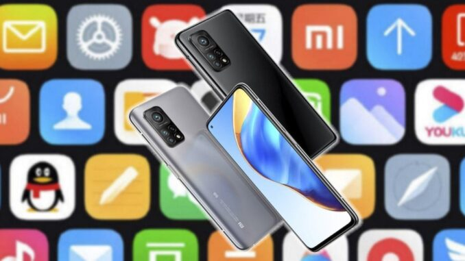 Order the Applications on a Xiaomi Mobile