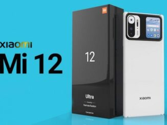 Leaked More Features of the Xiaomi Mi 12