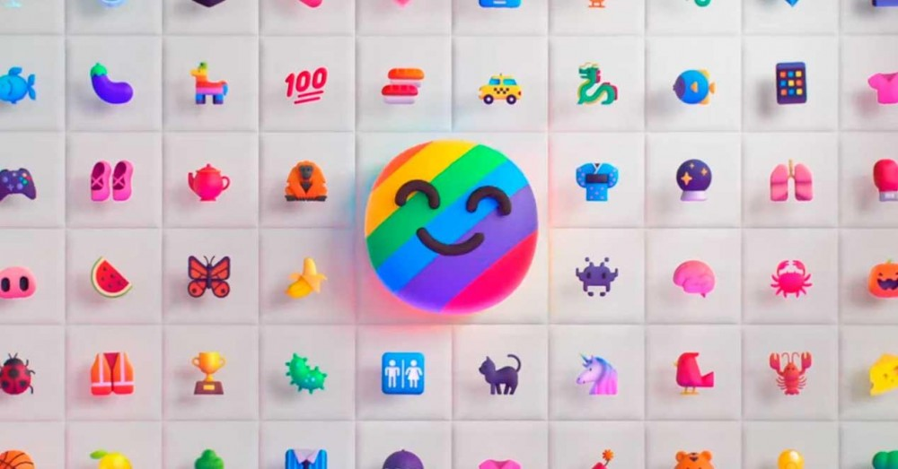 Clippy and 1800 Emojis 3D Redesigned by Microsoft