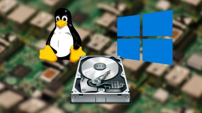 Share a Windows Folder on Another Linux Computer