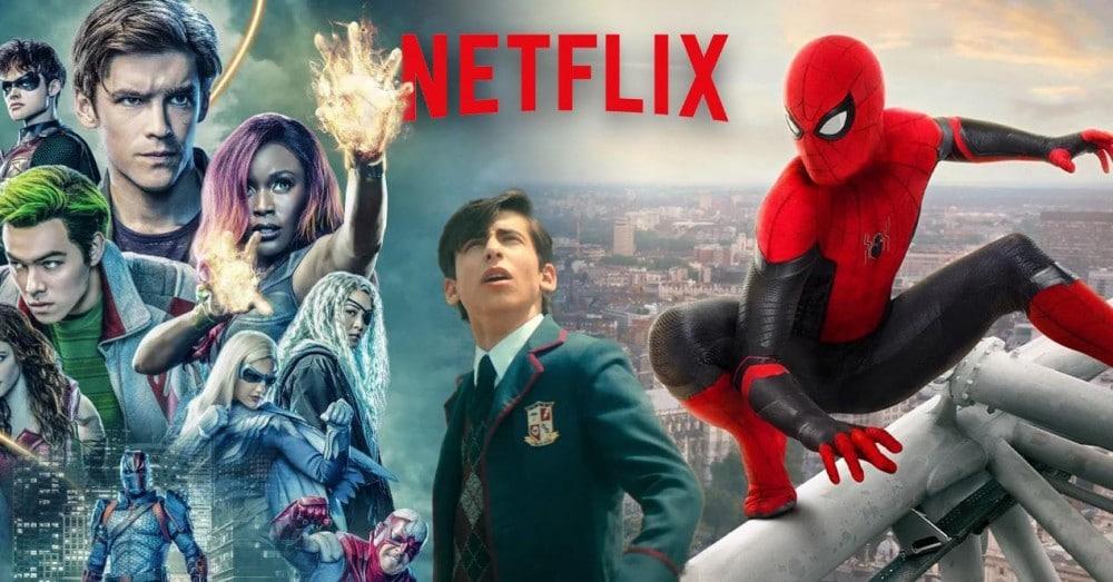 Films et séries de super-héros sur Netflix