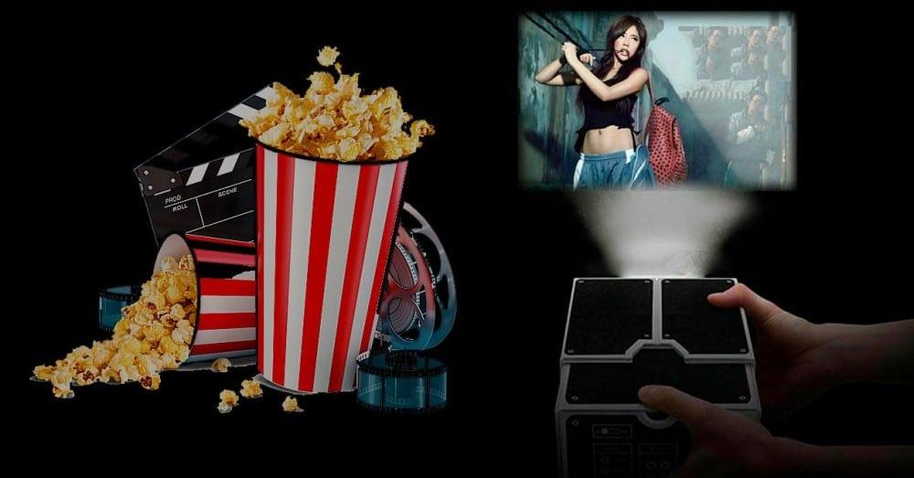 Gør din mobil til en filmprojektor