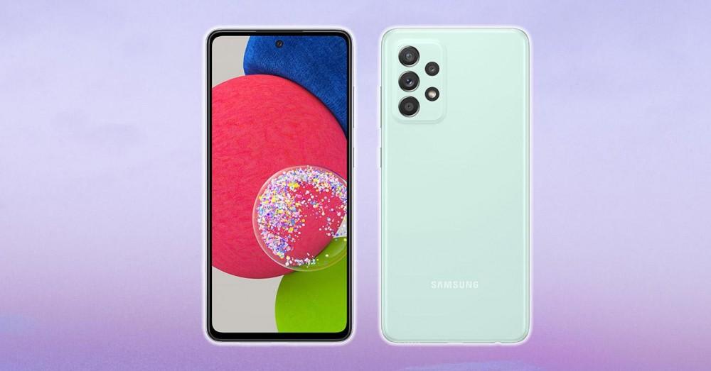 Samsung Galaxy A52s 5G является официальным