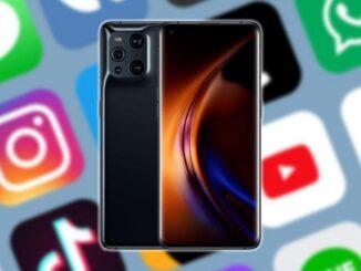 скрыть приложения на мобильных телефонах OPPO