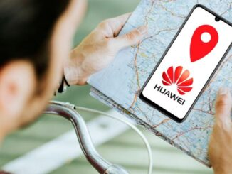 find and protect a lost Huawei mobile