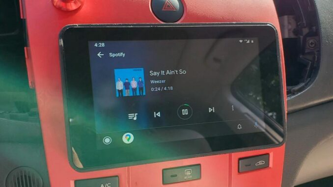 Create your own radio with Android Auto