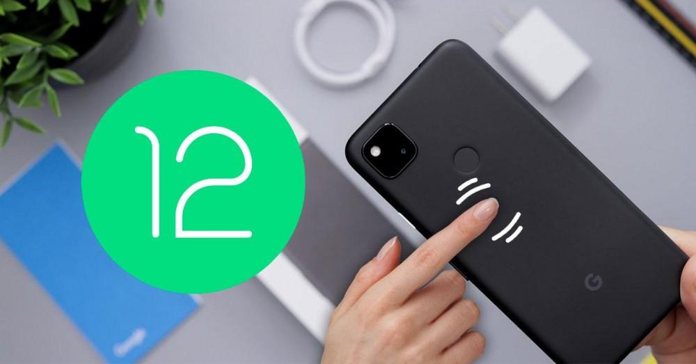 Cum se utilizează atingerea rapidă Android 12