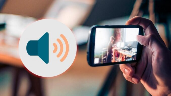 configure the sound of the camera of Android phones
