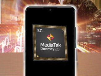 Mobiltelefon mit MediaTek-Prozessor