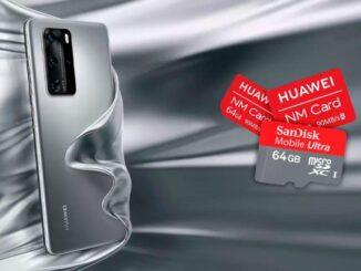 fixa problem med MicroSD eller NMCard på Huawei