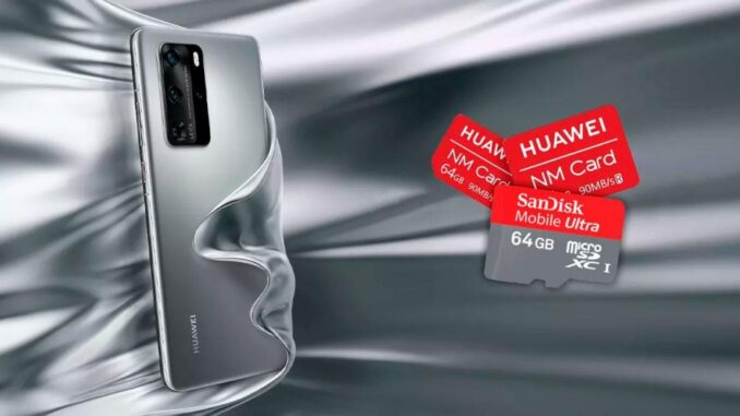 fix problems with the MicroSD or NMCard on Huawei